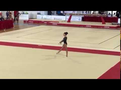 Giulia Cotroneo ITA - FX - TUNISI - Giochi del Mediterraneo Junior 2018