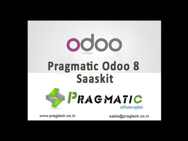 Pragmatic Odoo 8 Saaskit
