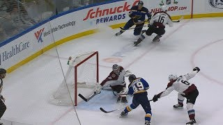 Ivan Barbashev finishes a beautiful passing play by NHL