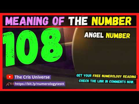 🔥❤️ 108 Angel Number Meaning - Meaning and Significance of seeing the Angel Number 108 -108 in Love