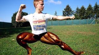Do I Train Legs? by Mani the Monkey