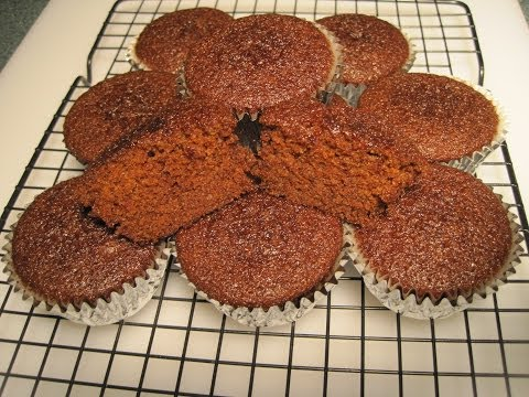 GINGERBREAD MUFFINS - How to make GINGERBREAD MUFFINS Recipe