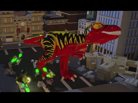LEGO Batman 3 Beyond Gotham Walkthrough - Cheat Codes (Characters ...