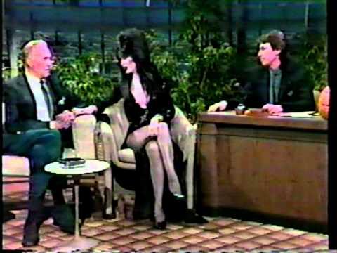 Elvira Mistress of the Dark -  Vincent Price Oct. 31, 1984 Tonight Show   - David Brenner hosts