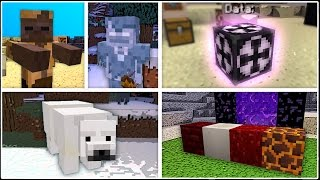 Minecraft 1.10 News: 3 New Mobs, 4 New Blocks, Fossils, and More!