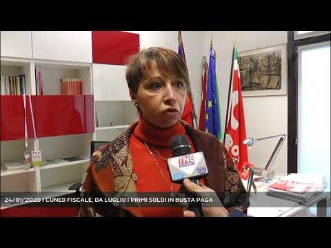 24/01/2020 | CUNEO FISCALE, DA LUGLIO I PRIMI SOLDI IN BUSTA PAGA