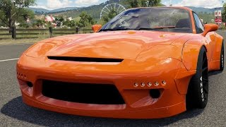 Mazda RX-7 1997 (Rocket Bunny BodyKit) - Forza Horizon 3 - Test Drive Free Roam Gameplay