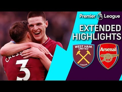 Video: West Ham v. Arsenal | PREMIER LEAGUE EXTENDED HIGHLIGHTS | 1/12/19 | NBC Sports