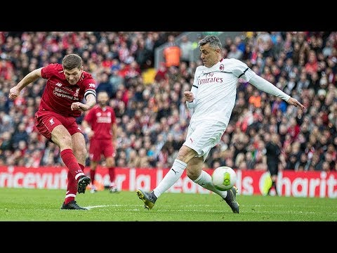 Liverpool Legends 3-2 AC Milan | Fowler flick, Pirlo free-kick and a Steven Gerrard winner - Thời lượng: 4:30:54.