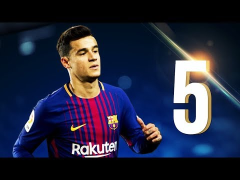 5 Insane Goals By Philippe Coutinho In His Debut Months For FC Barcelona | 2018 HD