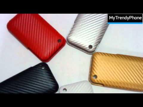 Carbon Fiber Skin för iPad 2, iPhone 4, iPad, HTC Desire…