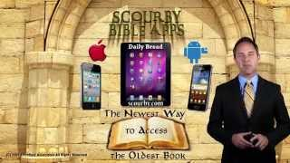 Scourby Bible APP (Mathew 5:1)