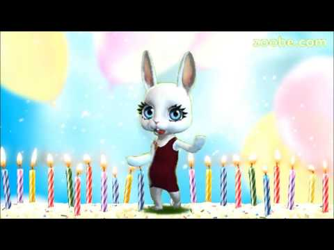 Зайка зуби поздравления с днём рождения скачать бесплатно