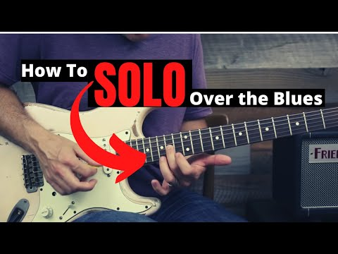 How To Easily Solo Over A Blues Progression - Guitar Lesson - Creating Tasty Blues Rock Licks