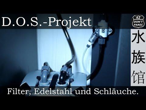 Filter, Edelstahl und Schläuche. (JBL CristalProfi e902 greenline) | D.O.S.-Projekt