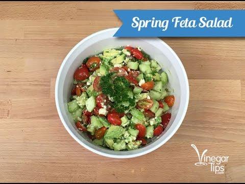 Spring Feta Salad