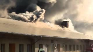 Fischamend Austria  city photos : Großbrand einer Lagerhalle in Fischamend