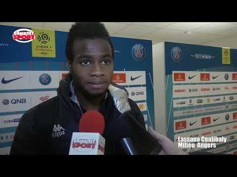 Lassana Coulibaly après la défaite du sco d'angers face au psg (2-1)