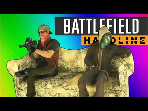 Battlefield Hardline Funny Moments – Couch Easter Egg, C4 Launches, Pictionary!