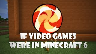 If Video Games Were In Minecraft 6 (ItsJerryAndHarry)
