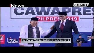 Video [Full] Debat Cawapres 2019, Ma'ruf Amin dan Sandiaga Uno MP3, 3GP, MP4, WEBM, AVI, FLV Maret 2019