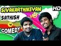 Sivakarthikeyan Sathish Comedy Scenes | Marina Tamil Movie | Pakoda Pandian | Oviya | Tamil Comedy