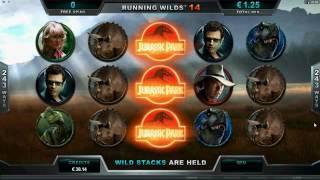 Бонусная игра в слоте Jurassic Park