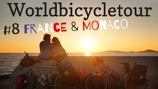 Bicycletouring France and Monaco  GER with ENG subtitles