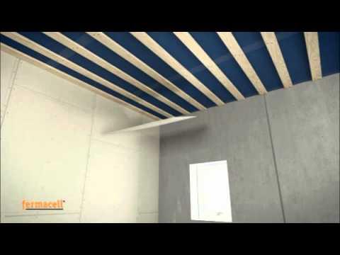 Montaż sufitu z płyt FERMACELL