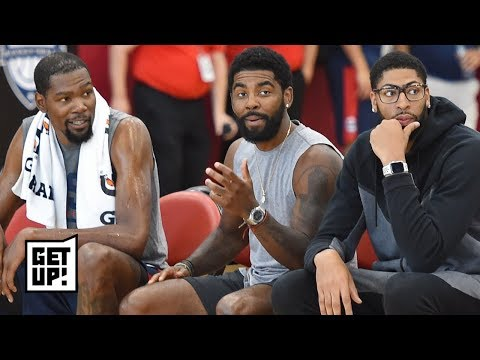 Attention Knicks fans: Anthony Davis, Kyrie and KD are still in play – Damon Jones | Get Up!