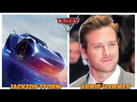 Disney Cars 3 Characters Behind the Voices - Cars 3 in Real Life