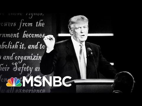 Fact Checking Donald Trump's Debate Statements | MSNBC