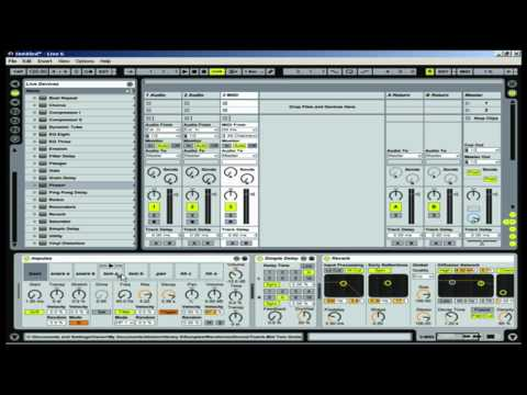 ableton Live intro | Ableton Live basics | Ableton tutorial | Beginner
