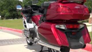 9. 2012 Honda Goldwing with Satellite Linked Navigation System and ABS