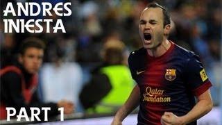 Andres Iniesta in der Saison 2012/13