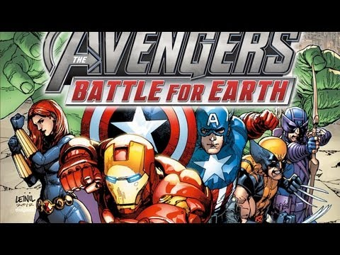 marvel avengers battle for earth xbox 360 gameplay