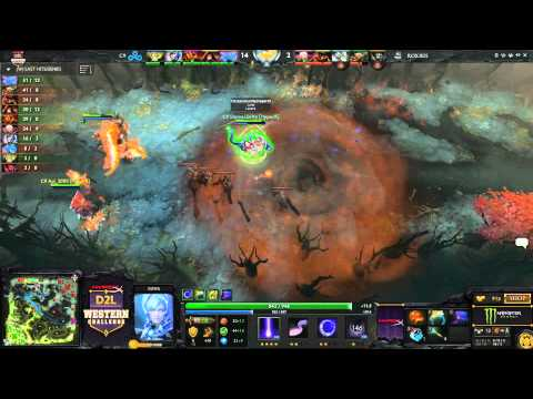 western - You're watching Game 2 between Cloud 9 and RoX.KIS from the D2L Western Challenge (www.D2L.gg) You can watch the entire match between Cloud 9 and RoX.KIS via...