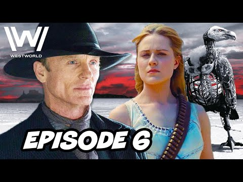Westworld Season 3 Episode 6 HBO - TOP 10 WTF and Easter Eggs