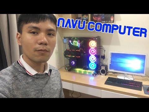 Navu build dàn máy tính dựng phim mới cho góc làm việc | DAILY VLOG 6 - Thời lượng: 6 phút, 31 giây.