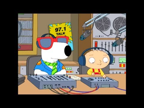 Family Guy- Stewie & Brian have their own Radio Show