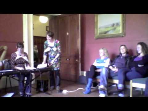 footstompin1 - Karine Polwart and the Tinto Summer School tutors sing Katy Perry and Bruno Mars songs as the finale to their tutors concert. This is a little sample of the ...