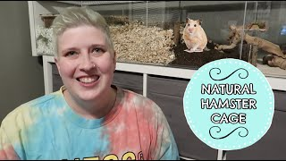 NATURAL HAMSTER CAGE PART 4 | FINISHED CAGE TOUR by Pickles12807