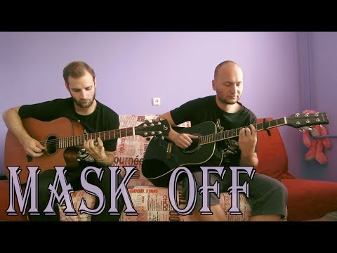Future – Mask Off (acoustic guitar cover, tabs) #MaskOffChallenge
