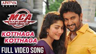 Video Kotthaga Kotthaga Full Video Song | MCA Full Video Songs | Nani, Sai Pallavi | DSP | Sriram Venu MP3, 3GP, MP4, WEBM, AVI, FLV Maret 2018