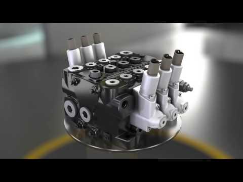 Parker VP120 Motor