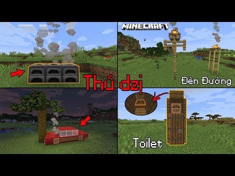 5 Sáng Tạo Siêu Thú Vị Trong Minecraft Bạn Cần Biết Về 1.14 ?? - Xe Hơi Bốc Khói?? - Thời lượng: 8 phút, 17 giây.