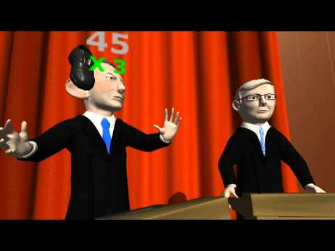 Video of Abbott VS Rudd