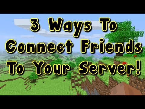 How To Play Minecraft with your Friends! 1.8 1.7.5 1.7.10 Any Version – Server Tutorial