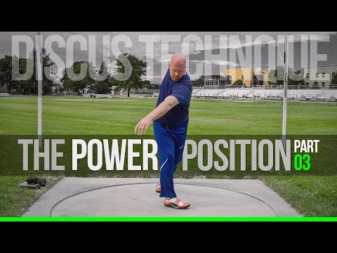 Discus Throw Technique | Power Position pt.3 - Footwork and Sequencing