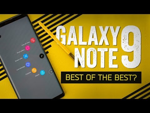 Video Galaxy Note 9 Hands-On: Look At This Absolute Unit download in MP3, 3GP, MP4, WEBM, AVI, FLV January 2017